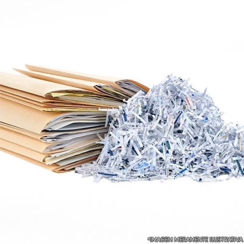 Custo de Destruição de Documento Vila Suzana - Recolha e Destruição de Documentos