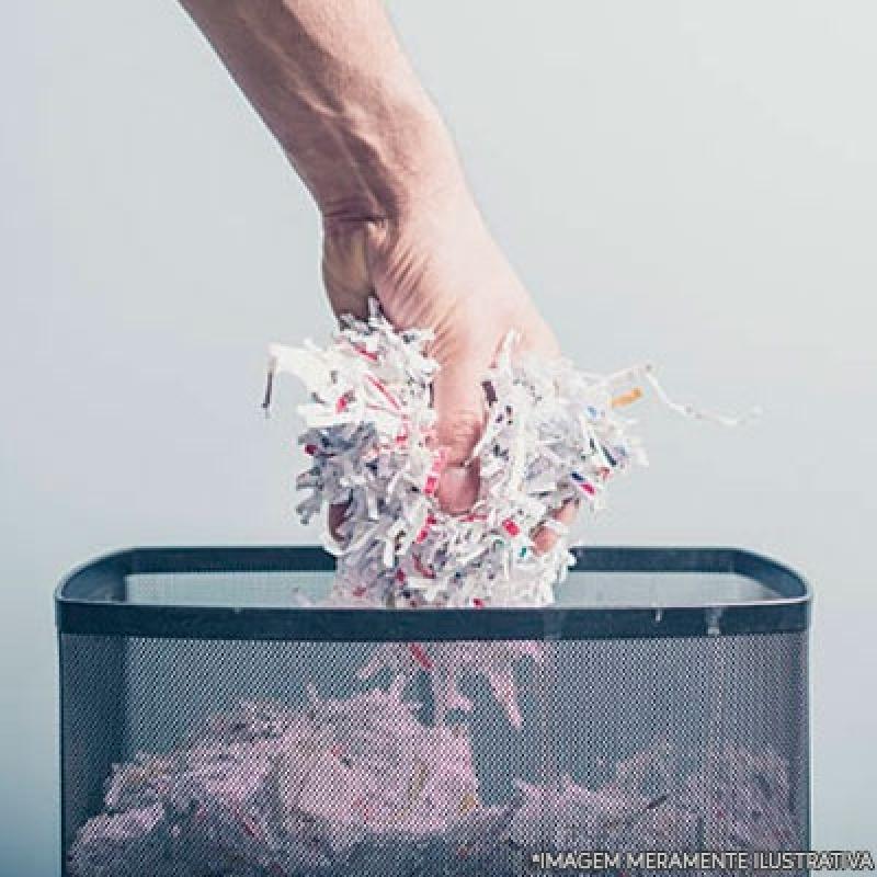Custo de Destruição de Documentos Sigilosos Vila Guilherme - Destruição Documentos Confidenciais
