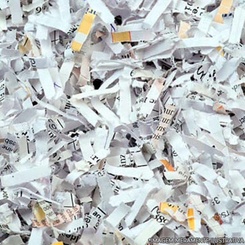 Custo de Destruição Documentos Administrativos Vila Morumbi - Recolha e Destruição de Documentos