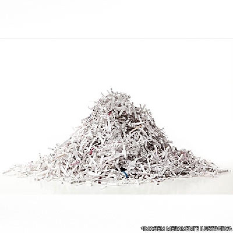 Custo de Destruição Documentos Empresariais Vila Suzana - Destruição Documentos Confidenciais