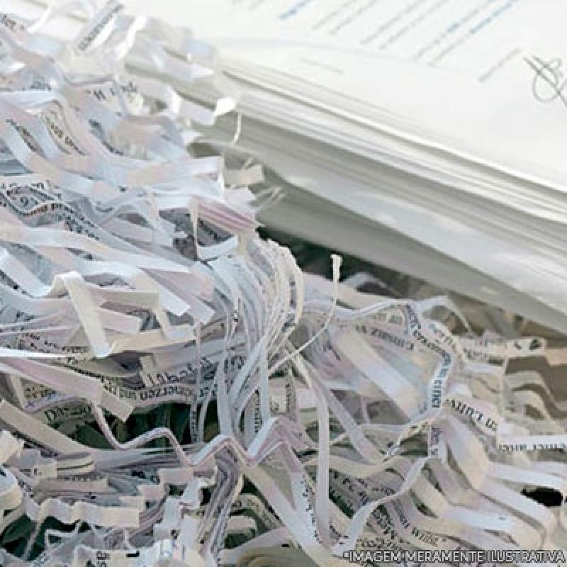 Custo de Destruição Documentos Públicos Itaquaquecetuba - Recolha e Destruição de Documentos