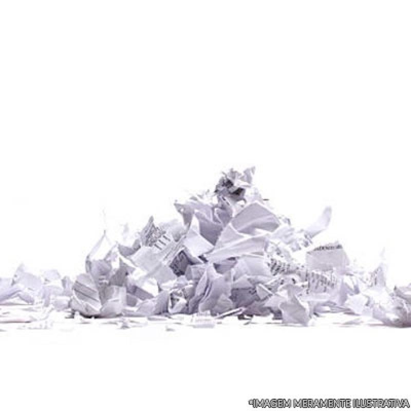 Custo de Recolha e Destruição de Documentos Ibirapuera - Recolha e Destruição de Documentos