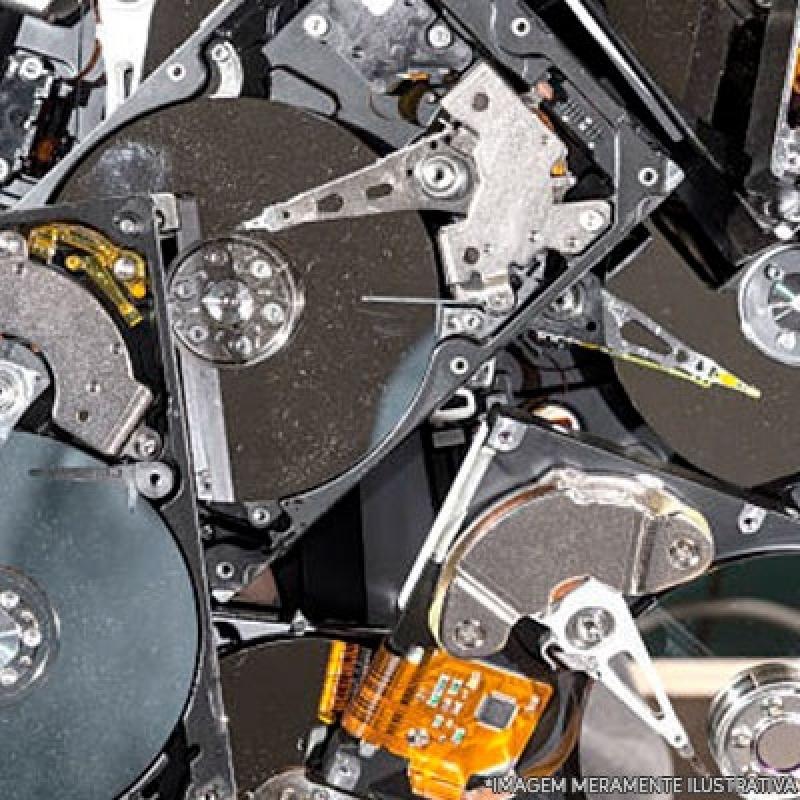 Descarte de Equipamentos de Armazenamento de Dados Itupeva - Descarte Equipamentos de Armazenamento