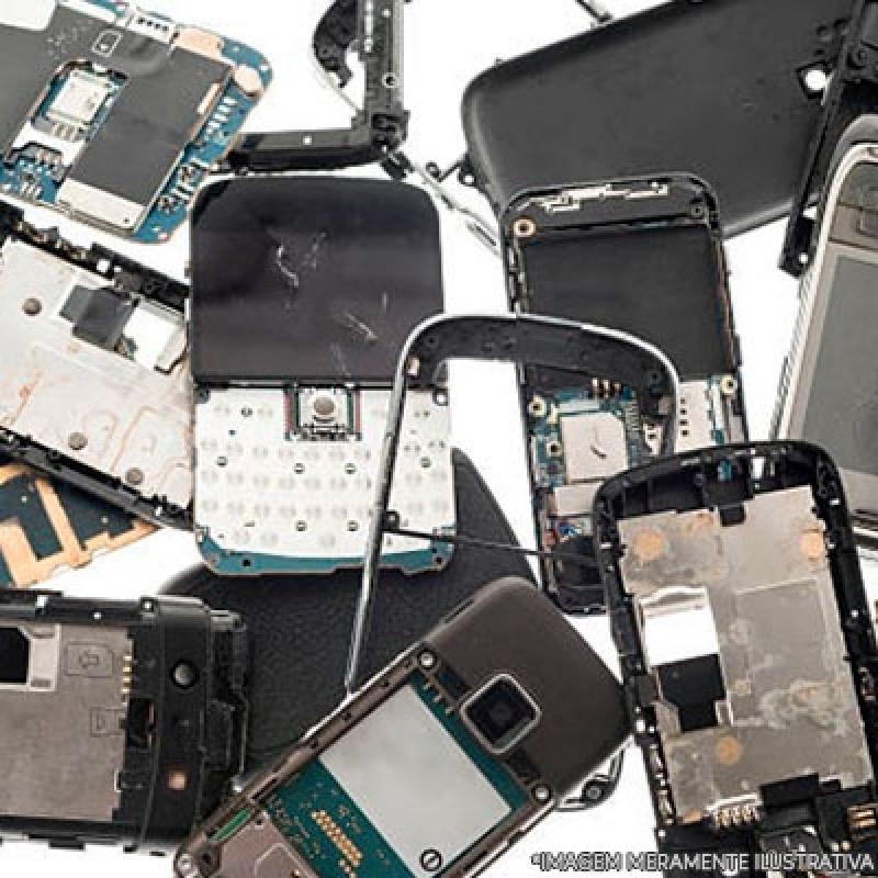 Descarte de Equipamentos Eletrônicos Orçamento Marília - Descarte Equipamentos de Armazenamento