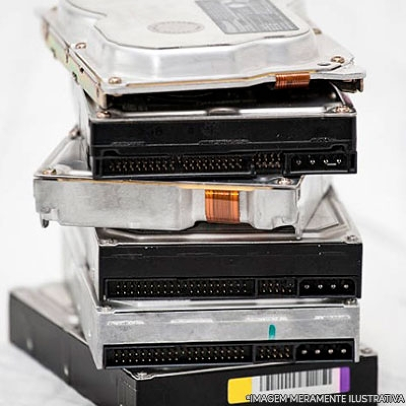 Descarte Equipamentos de Armazenamento Arujá - Descarte de Equipamentos de Armazenamento de Dados