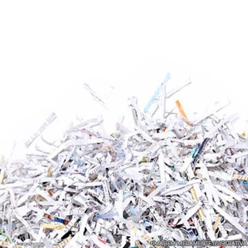 Destruição de Documentos Sigilosos Itu - Recolha e Destruição de Documentos