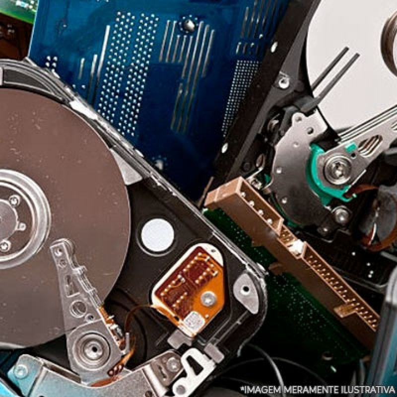 Destruição Segura de Dados Bauru - Destruição de Armazenadores de Dados