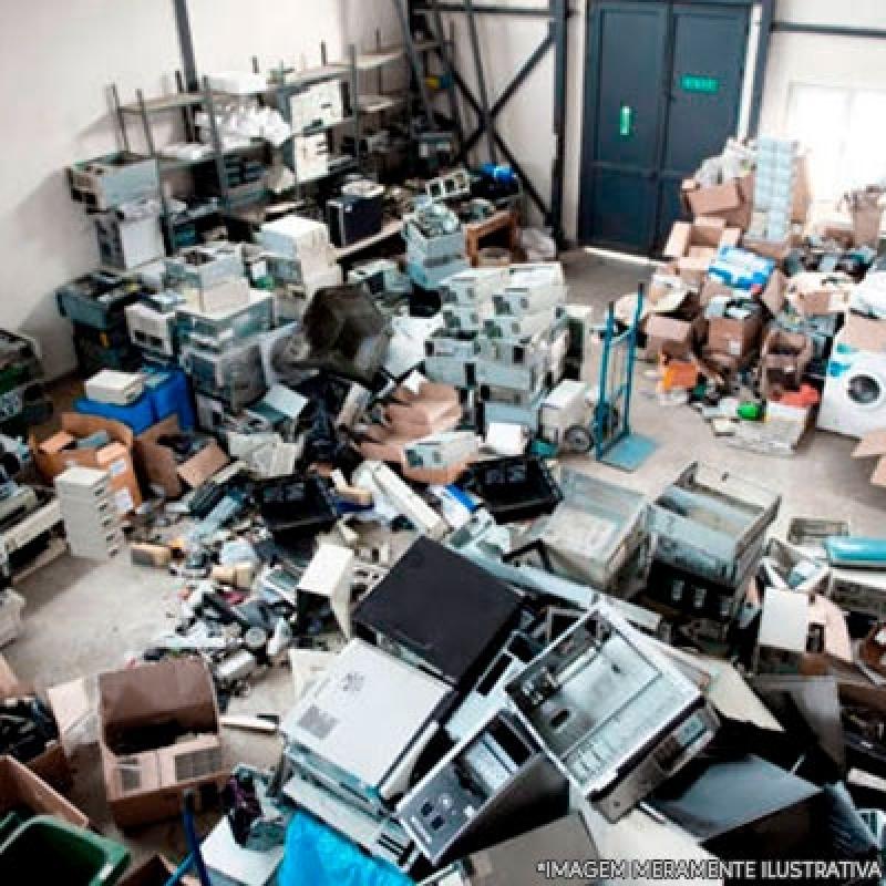 Onde Encontro Reciclagem de Produtos Eletrônicos Jardim Marajoara - Reciclagem de Eletrônico