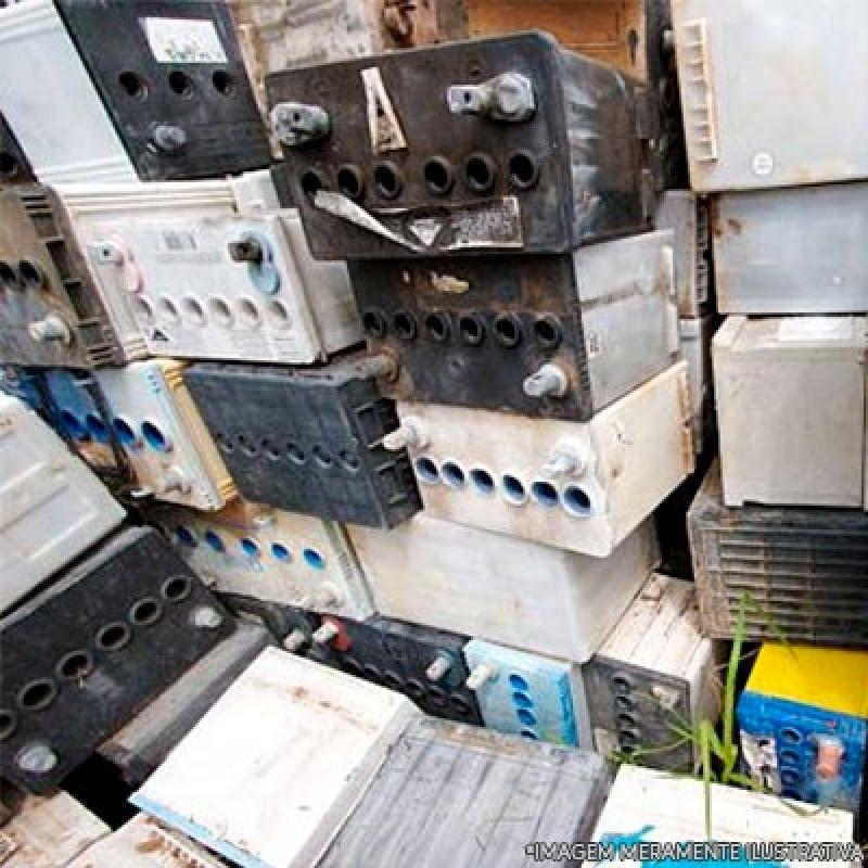 Onde Fazer Reciclagem Bateria Automotiva Santo Antônio da Posse - Reciclagem de Bateria e Pilha