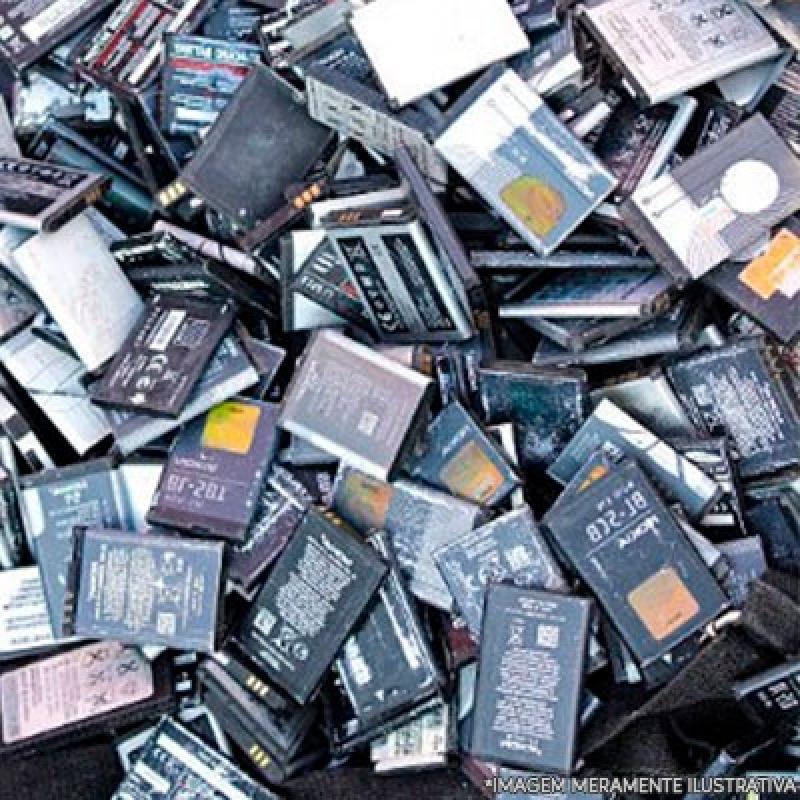 Onde Fazer Reciclagem de Bateria Celular Vila Uberabinha - Reciclagem de Bateria e Pilha