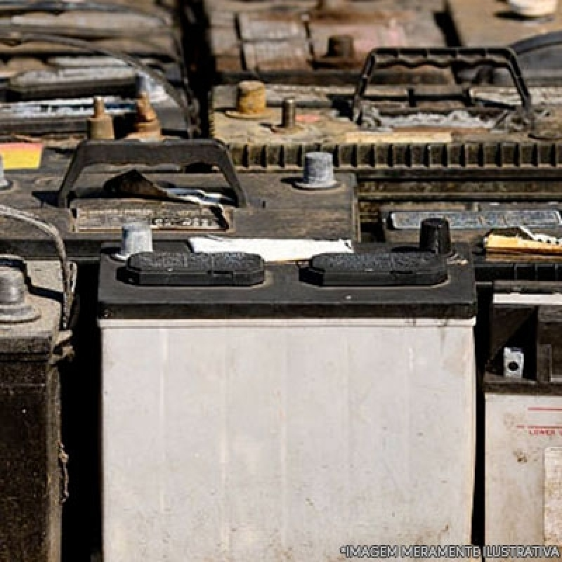Onde Fazer Reciclagem de Bateria Hortolândia - Reciclagem Bateria Automotiva