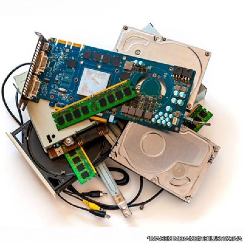 Onde Tem Reciclagem de Materiais Eletrônicos Vale do Paraíba - Reciclagem de Lixos Eletrônicos