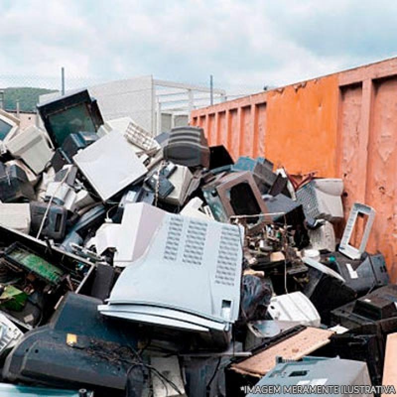 Onde Tem Reciclagem de Produtos Eletrônicos Limeira - Reciclagem de Eletrônico