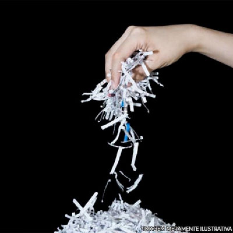 Procuro por Destruição de Documento Itaquaquecetuba - Recolha e Destruição de Documentos