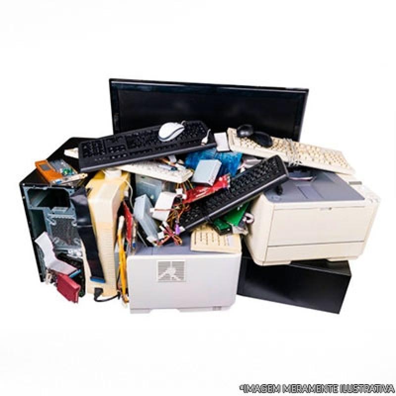 Reciclagem Aparelhos Eletrônicos Valores São Paulo - Reciclagem de Lixos Eletrônicos