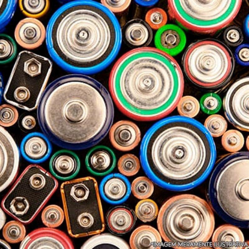 Reciclagem de Bateria e Pilha Orçamento Sacomã - Reciclagem de Baterias