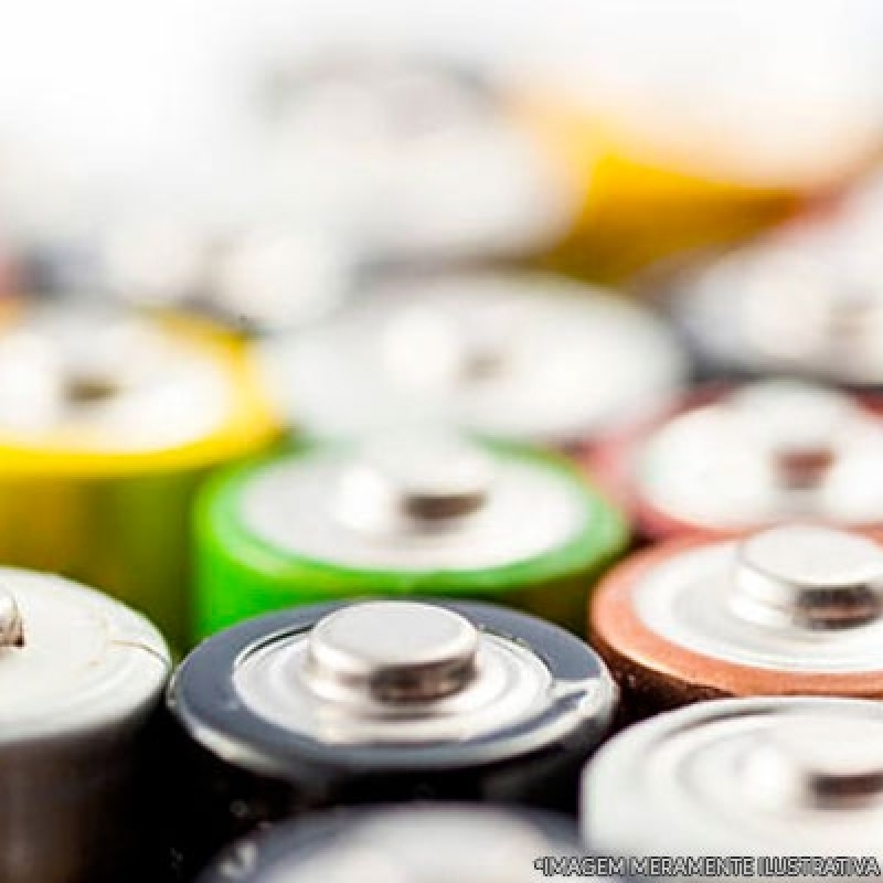 Reciclagem de Bateria e Pilha Orçar Campo Belo - Reciclagem de Baterias Automotivas