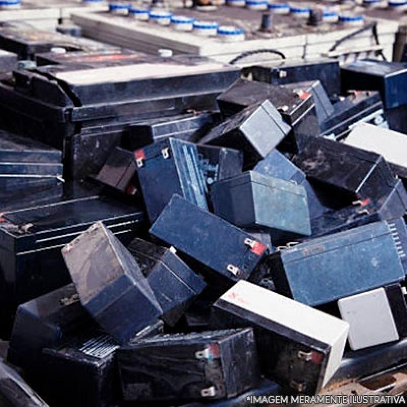 Reciclagem de Bateria Jardim Luzitânia - Reciclagem Baterias