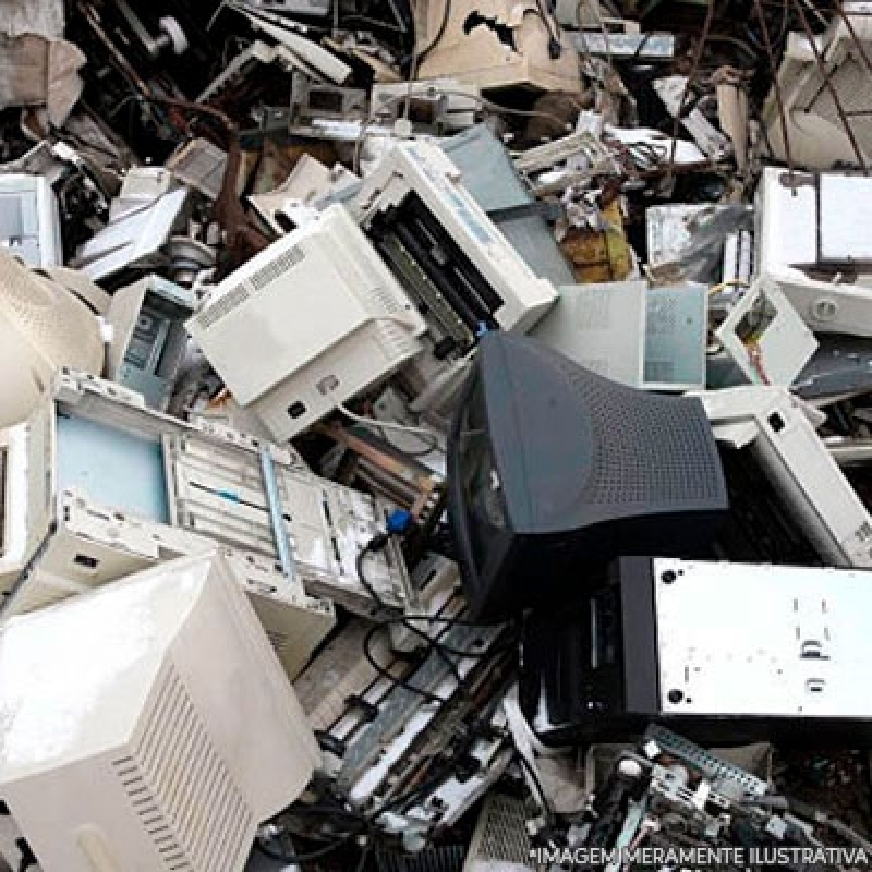Reciclagem de Componentes Eletrônicos Valores Barueri - Reciclagem de Lixos Eletrônicos