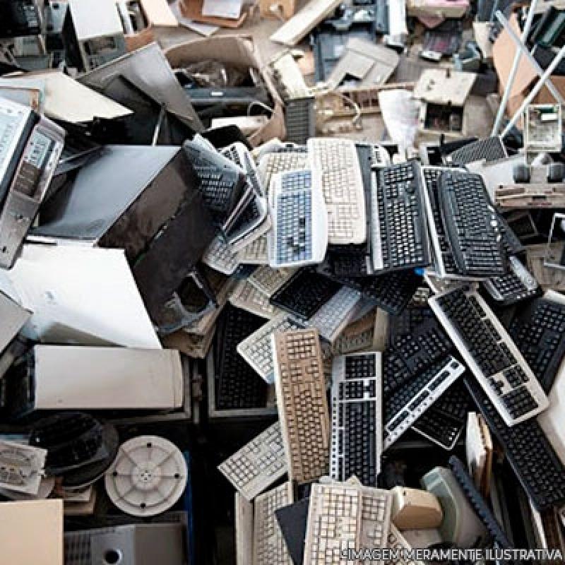 Reciclagem de Componentes Eletrônicos Vila Élvio - Reciclagem de Lixos Eletrônicos