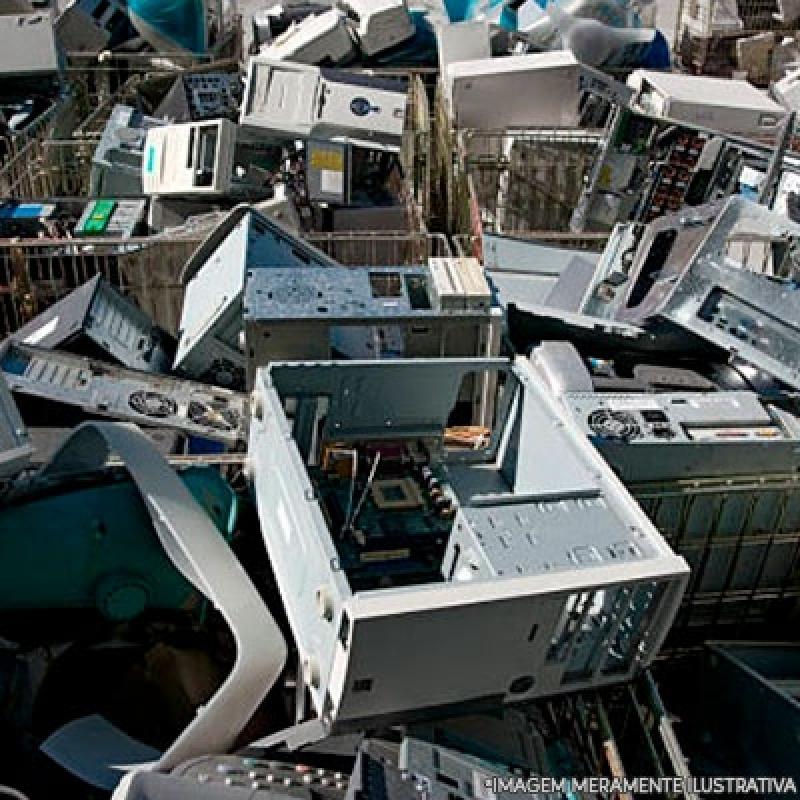 Reciclagem de Eletrônicos para Sucata Tucuruvi - Reciclagem Eletrônicos