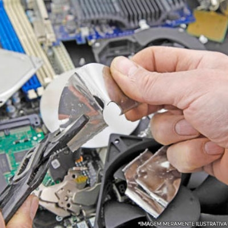 Reciclagem de Lixos Eletrônicos Valores Franca - Reciclagem Eletrônicos