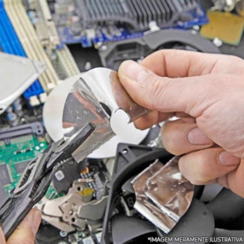 Reciclagem de Materiais Eletrônicos Ipiranga - Reciclagem de Eletrônico