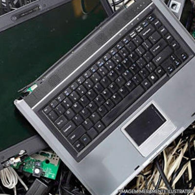 Reciclagem de Produtos Eletrônicos Orçamento Jardim Paulistano - Reciclagem de Eletrônico