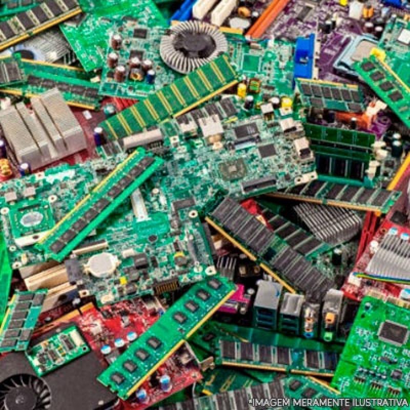 Reciclagem Eletrônicos Valores Jaguariúna - Reciclagem de Eletrônico
