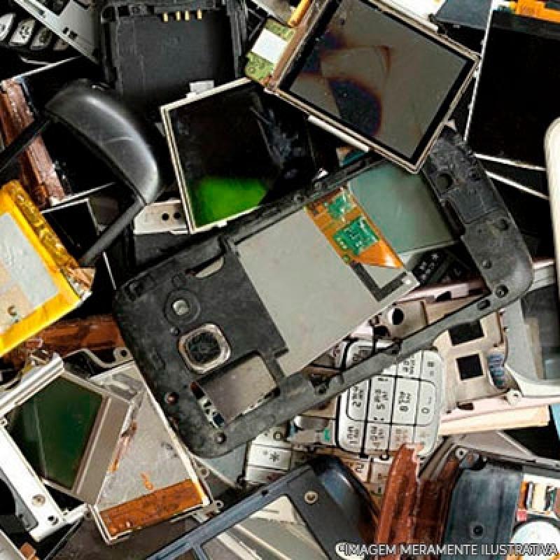 Reciclagem Eletrônicos Itaim Bibi - Reciclagem de Eletrônicos para Sucata