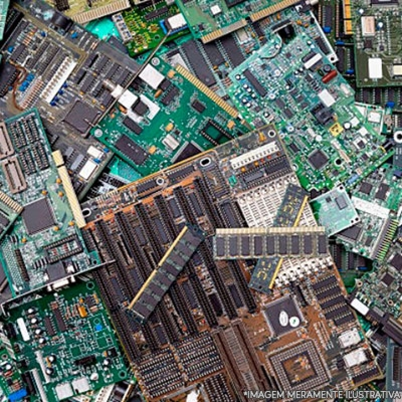 Reciclagem Peças Eletrônicas Orçamento Saúde - Reciclagem de Lixos Eletrônicos