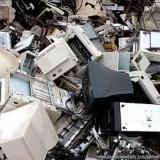 descarte material eletrônico valor Indianópolis