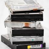 destruição de dados digitais