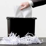 destruição documentos administrativos Bacaetava