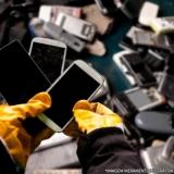 onde faz descarte resíduo eletrônico Mendonça