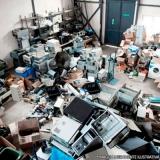 onde tem reciclagem componentes eletrônicos Vila Maria