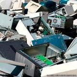 reciclagem de equipamentos de informática valor Presidente Prudente